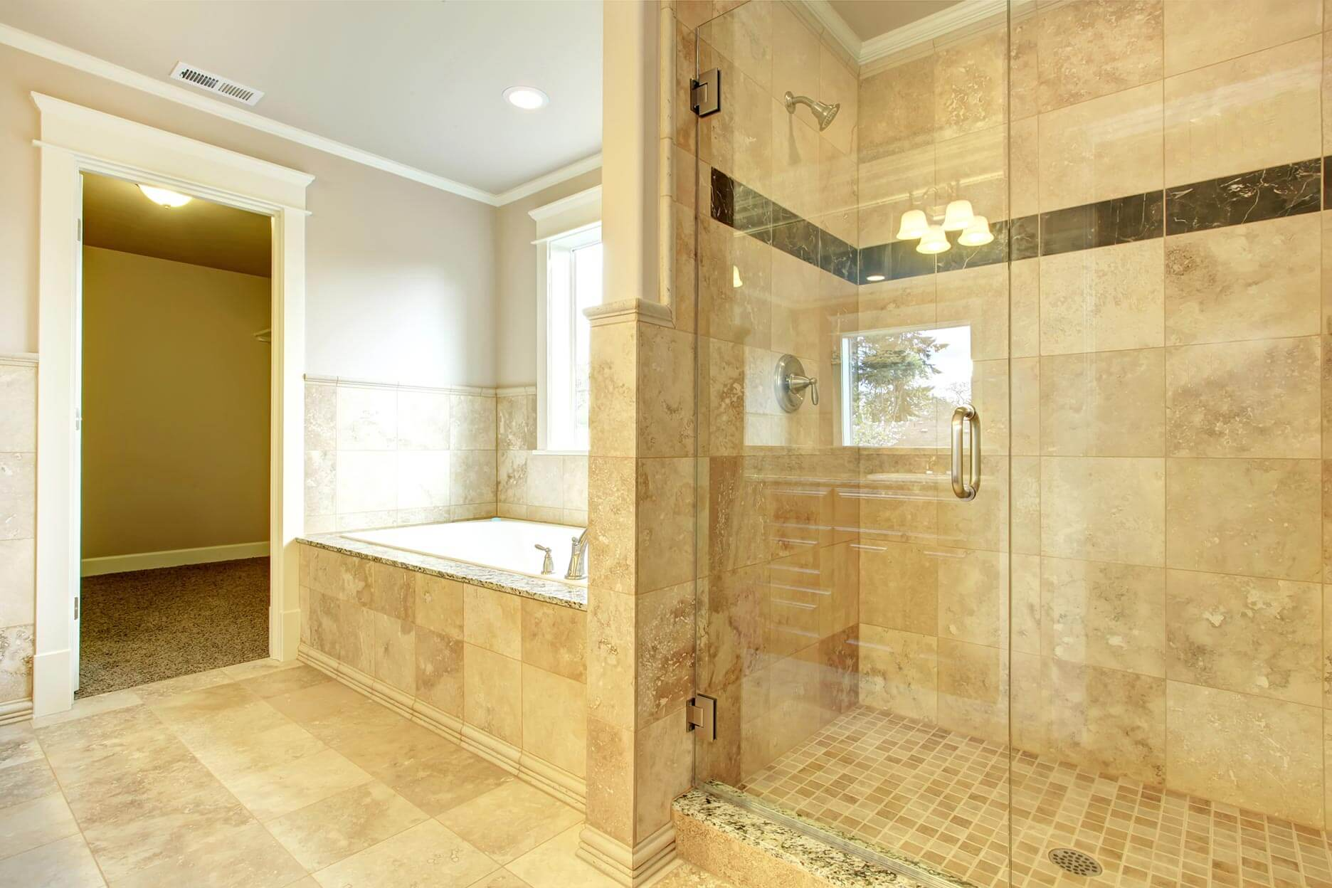 Custom Glass Shower Doors in San Antonio